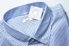New shirt and rfid tag. stock image