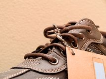 New shoe Royalty Free Stock Images
