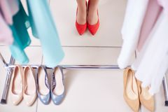 New shoes Royalty Free Stock Photos