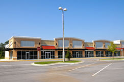 New Shopping Center Stock Photography