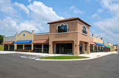 New Shopping Center stock photo