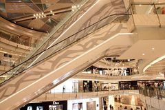 New shopping mall in shanghai Stock Photography