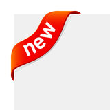 «New» sign  Stock Image