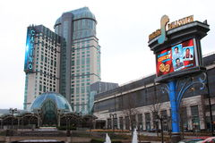 NEW SIGNS FALLSVIEW CASINO Royalty Free Stock Images