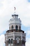 New Sigulda Palace tower Royalty Free Stock Photography