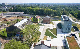 New Silesian Museum is located in the buildings of an old coal m Royalty Free Stock Photography