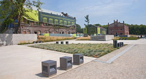 New Silesian Museum is located in the buildings of an old coal m Royalty Free Stock Photos