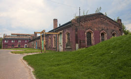 New Silesian Museum is located in the buildings of an old coal m Royalty Free Stock Image