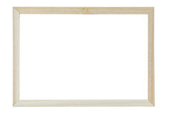 New simple narrow picture frame isolated Stock Photography