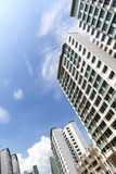 New Singapore Government apartments Royalty Free Stock Images