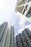 New Singapore Government apartments Royalty Free Stock Photography