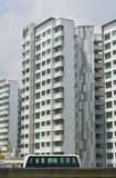New Singapore Government apartments Royalty Free Stock Photos