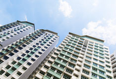 New Singapore Government apartments Royalty Free Stock Image