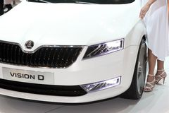 New skoda design Stock Images