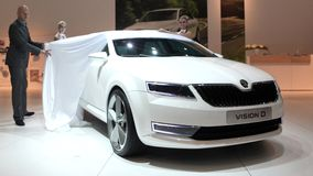 New skoda design Stock Photography