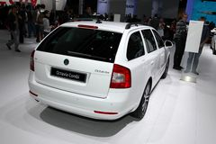 The new Skoda Octavia Combi Stock Photo