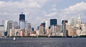 New York skyline at day Stock Images