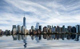 new skyline york Στοκ φωτογραφία με δικαίωμα ελεύθερης χρήσης