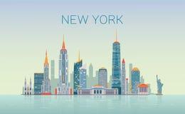 new skyline york Στοκ εικόνες με δικαίωμα ελεύθερης χρήσης