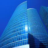 New skyscrapers business centre in moscow city Royalty Free Stock Image