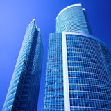 New skyscrapers business centre in moscow city Royalty Free Stock Photos