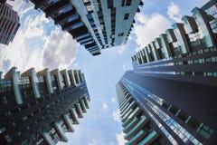 New skyscrapers at Porta Nuova in Milan, Italy Royalty Free Stock Photo