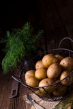 New small potatoes Royalty Free Stock Photography