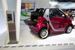 The new Smart Fortwo Electric Drive Stock Photography
