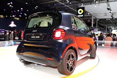 The new Smart Fortwo Tailor Made Royalty Free Stock Photos