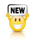 New smiley Royalty Free Stock Photo