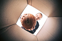 New soccer ball Stock Photos