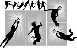 New soccer europe Royalty Free Stock Photography