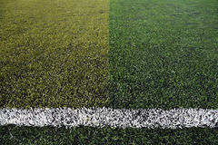 New soccer field background Royalty Free Stock Image