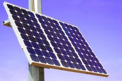 New solar energy Royalty Free Stock Photo