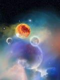 New Solar System 2 Royalty Free Stock Photo
