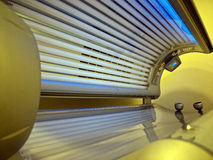 New solarium ready for use Royalty Free Stock Photography
