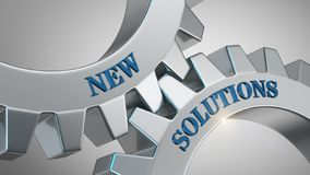 New solutions concept royalty free stock images