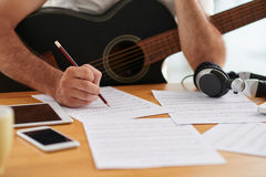 New song Royalty Free Stock Photo