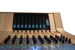 New sound desk Stock Photos