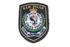 New South Wales Police Badge Stock Photo