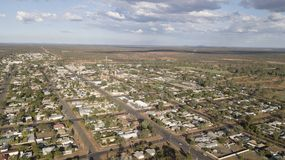 New South Wales town of Cobar. In the west of the state stock photography