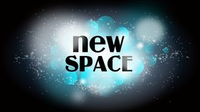 New space Royalty Free Stock Image