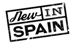 New In Spain rubber stamp Royalty Free Stock Photos