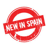New In Spain rubber stamp Royalty Free Stock Images