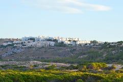 A New Spanish Urbinisation Houses Construction - Housing Development Stock Photography