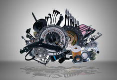New spare parts Stock Photos