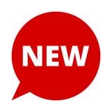 New, Speech Bubble Royalty Free Stock Photography