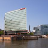 New Spiegel Headquarters Stock Image