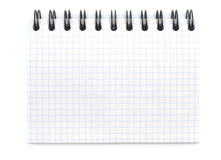 New Spiral Notebook Stock Images