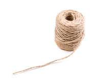 New spool of craft twine isolated Royalty Free Stock Images